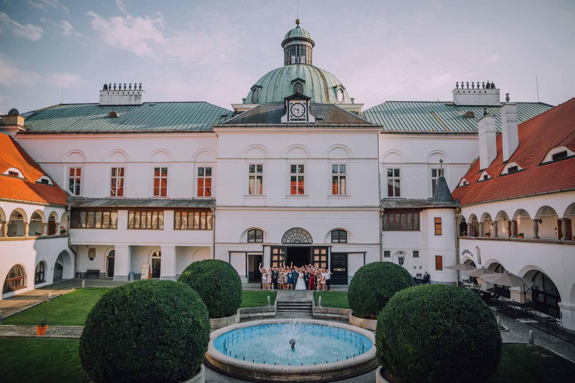Západné Slovensko: kaštiele a zámky na svadbu